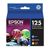 Original Epson T125520 Color Ink Cartridge 3 Pack