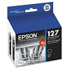 Original Epson T127120-D2 Extra High Yield Black Ink 2 Pack