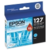 Original Epson T127220 Extra High Yield Cyan Ink Cartridge