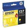 Original Epson T127420 Extra High Yield Yellow Ink Cartridge