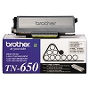 Original Brother TN-650 High Yield Black Toner Cartridge
