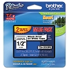 Brother TZE231 1/2 inch Laminated Black on White Tape 2 Pack