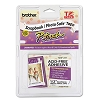 Brother TZEAF231 Photo-Safe P-Touch Tape Cartridge, 1/2w, Black on White