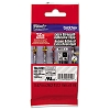 Brother TZeS131 1/2 in. Extra Strength Super Adhesive Black on Clear Industrial Tape