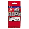 Brother TZES141 3/4 in. Extra Strength Super Adhesive Black on Clear Industrial Tape