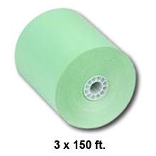 3 in. x 165 ft 1ply Bond Green, 50 Rolls