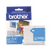 Original Brother LC-51C Cyan Ink Cartridge