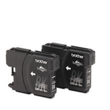 Original Brother LC65 High Capacity Black Ink Cartridge 2 Pack