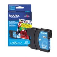 Original Brother LC65HYC High Capacity Cyan Ink Cartridge