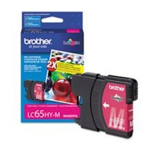 Original Brother LC65HYM High Capacity Magenta Ink Cartridge