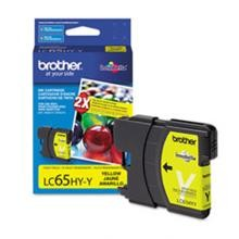 Original Brother LC65HYY High Capacity Yellow Ink Cartridge