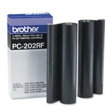 Original Brother PC-202RF Fax Ribbon Roll 2 Pack