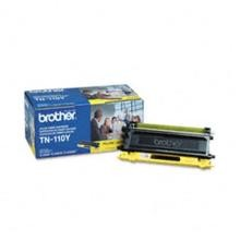 Original Brother TN-110Y Yellow Toner Cartridge
