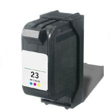 Remanufactured HP 23 C1823D Color Ink Cartridge
