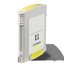 Remanufactured HP 11 C4838AN Yellow Ink Cartridge