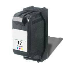 Remanufactured HP 17 C6625AN Color Ink Cartridge