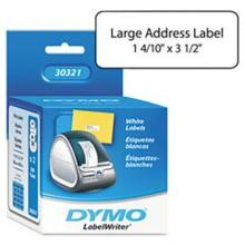 Dymo 30321 Large Address Label, 3-1/2 x 1-2/5'' White''