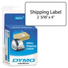 Dymo 30573 Self-Stick Shipping Labels, 4 x 2-1/8 White