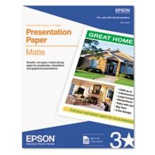 Epson Letter Size Photo Quality Inkjet Paper 8.5 x 11'' 100 Sheets-Pkg