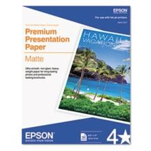 Epson Letter Size Heavyweight Paper Matte Finish 8.5 x 11'' 50 Sheets-Pkg