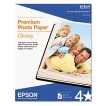 Epson Letter Size Premium Photo Paper 8.5 x 11'' 50 Sheets-Pkg