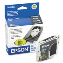 Original Epson T034820 Matte Black Ink Cartridge