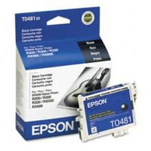 Original Epson T048120 Black Ink Cartridge