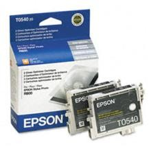 Original Epson T054020 Gloss Optimizer Cartridge 2 Pack