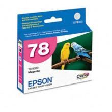Original Epson T078320 Magenta Ink Cartridge