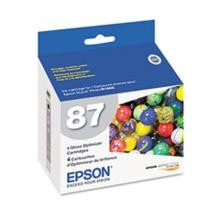 Original Epson T087020 Gloss Optimizer Cartridge 4 Pack