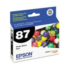 Original Epson T087120 Photo Black Ink Cartridge
