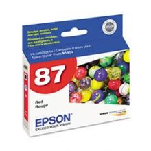 Original Epson T087720 Red Ink Cartridge