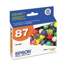 Original Epson T087920 Orange Ink Cartridge