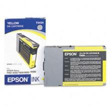 Original Epson T543400 Yellow Pigment Ink Cartridge