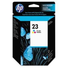Genuine HP 23 C1823D Color Ink Cartridge