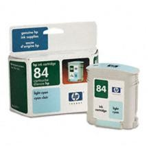 Genuine HP 84 C5017A Light Cyan Ink Cartridge