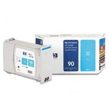 Genuine HP 90 C5061A Cyan Ink Cartridge