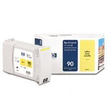 Genuine HP 90 C5065A Yellow Ink Cartridge