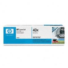 Genuine HP 43X C8543X Black Toner Cartridge