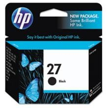 Genuine HP 27 C8727A Black Ink Cartridge