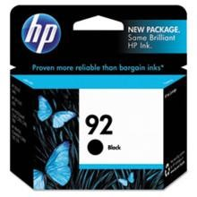 Genuine HP 92 C9362WN Black Ink Cartridge