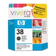 Genuine HP 38 C9412A Matte Black Ink Cartridge