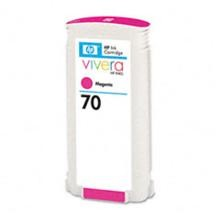 Genuine HP 70 C9453A Magenta Ink Cartridge