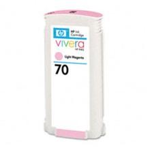 Genuine HP 70 C9455A Light Magenta Ink Cartridge