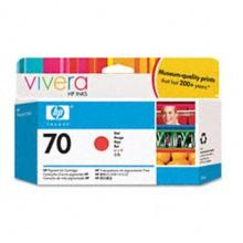 Genuine HP 70 C9456A Red Ink Cartridge