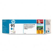 Genuine HP 91 C9467A Cyan Ink Cartridge
