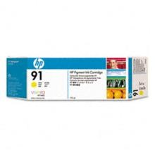 Genuine HP 91 C9469A Yellow Ink Cartridge