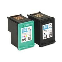 Genuine HP 95 HP 98 CB327FN Black / Color Ink Cartridge Combo Pack