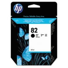 Genuine HP 82 CH565A 69ML Black Ink Cartridge