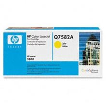 Genuine HP Q7582A Yellow Toner Cartridge